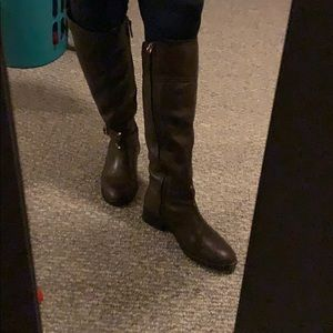 TORY BURCH LEATHER RIDING BOOTS size 7